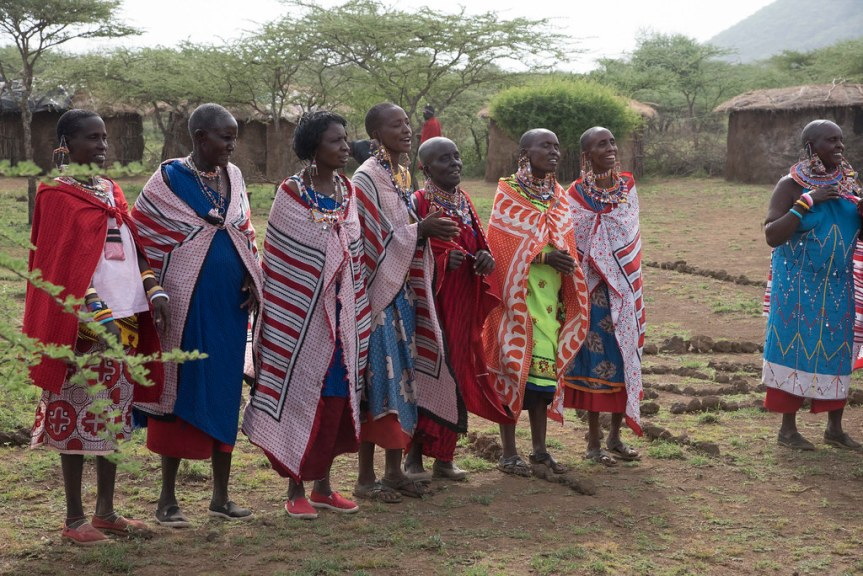 How a Maasai lady inspires, connects and mobilizes other women